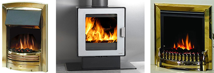 Dimplex Electric Fires, Logfire Solid Fuel Fires, Gas Fire Spares
