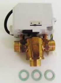 Ferroli 3-Way Diverter Valve Complete With Head 39810940