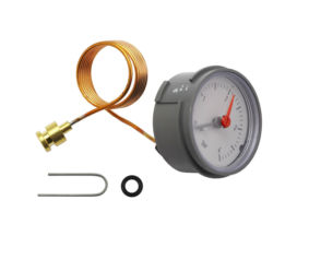 Worcester Pressure Gauge 4 Bar Dark Grey 87161423000