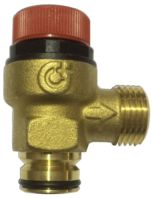 "Safety Valve 1/2"" X 1/2"" Pushfit  M With O ring A312438 CST"
